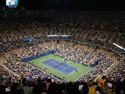 Arthur Ashe Stadium, section: 316, row: W