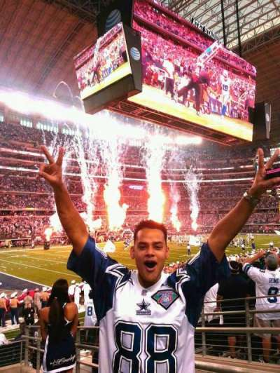 At&t Stadium, section: 144, row: 12, seat: 1