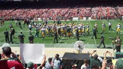 Candlestick Park section 133