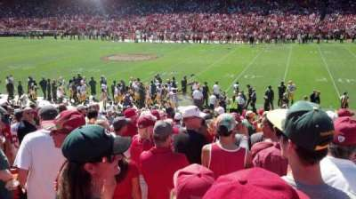 Candlestick Park section 135