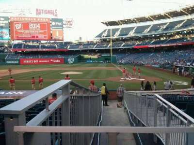 Nationals Park, section: 118, row: T, seat: 3