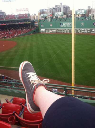 Fenway Park, section: Right Field Roof Deck Box 31, row: D, seat: 4