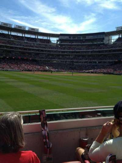 Nationals Park, section: 100, row: C, seat: 23