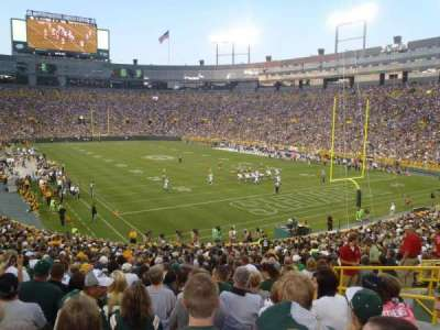 Lambeau Field section 134