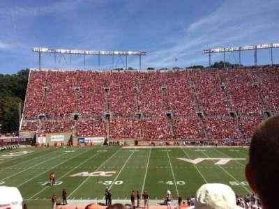 Lane Stadium, section: 10, row: GG