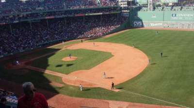 Fenway Park, section: Pavilion, row: 1, seat: 16