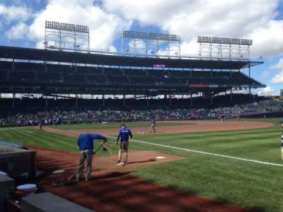 Wrigley Field, section: 36, row: 2, seat: 4