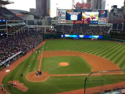 Progressive Field section 450