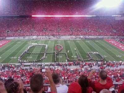 Ohio Stadium, section: 21c, row: 4, seat: 8