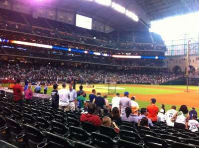 Minute Maid Park, section: 127, row: 14, seat: 15