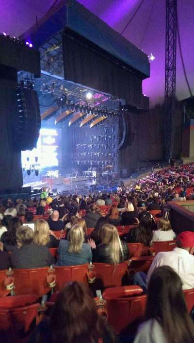Shoreline Amphitheatre, section: 103, row: z, seat: 31