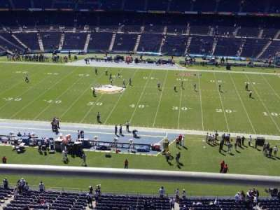 SDCCU Stadium, section: Lv7, row: 2, seat: 14