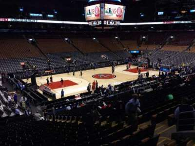 Air Canada Centre, section: 121, row: 25, seat: 9