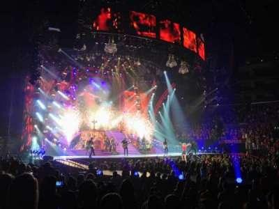 Staples Center, section: Floor 11, row: 4, seat: 21