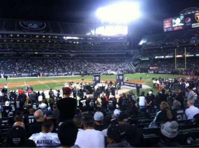 Oakland Alameda Coliseum section 118