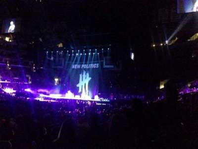 Staples Center, section: 102, row: 12, seat: 11