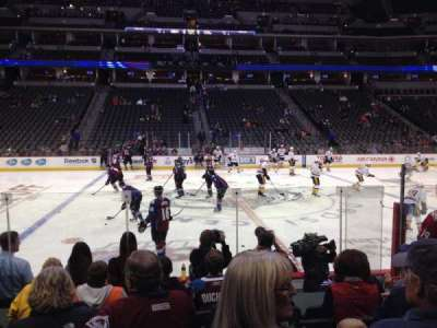 Pepsi Center section 102