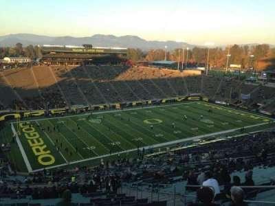 Autzen Stadium, section: 36, row: 83, seat: 5