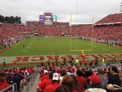 Carter-Finley Stadium, section: 115, row: CC, seat: 21