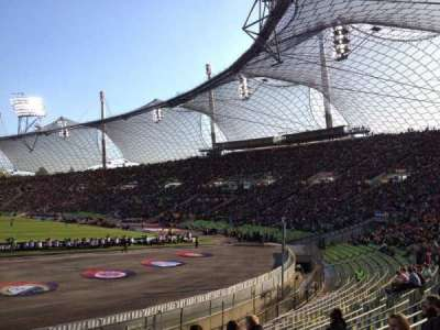Olympiastadion, Munich section O2