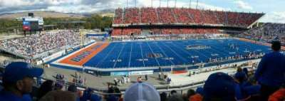 Albertsons Stadium, section: 110, row: G, seat: 10