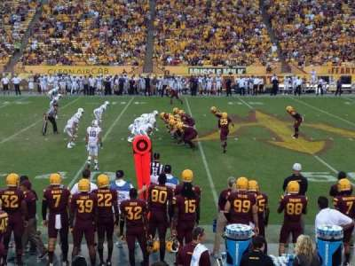 Sun Devil Stadium, section: 30, row: 11, seat: 26