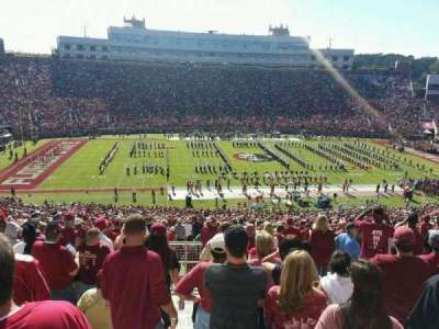 Bobby Bowden Field at Doak Campbell Stadium, section: 11, row: 72, seat: 32