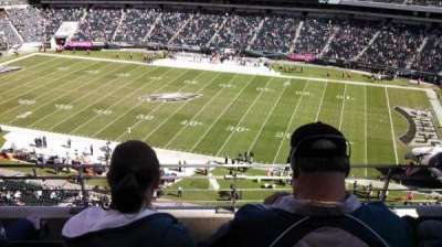Lincoln Financial Field, section: 204, row: 4, seat: 17