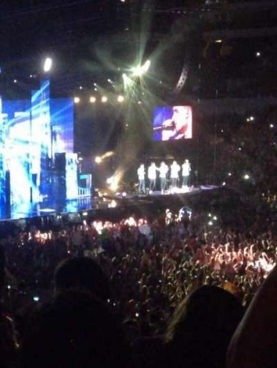 American Airlines Center, section: 117, row: Y, seat: 11