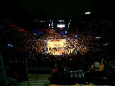 Madison Square Garden, section: 416, row: 5, seat: 1