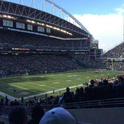 CenturyLink Field, section: 116, row: KK, seat: 4