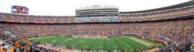 Neyland Stadium, section: B, row: 37, seat: 17
