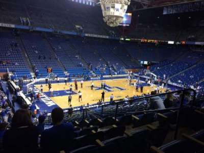 Rupp Arena, section: 34, row: U, seat: 5