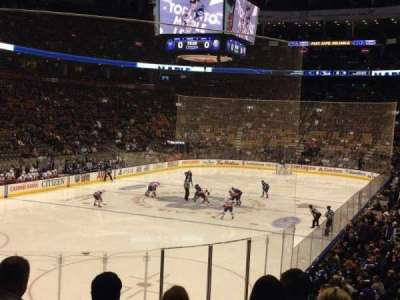 Air Canada centre, section: 112, row: 20, seat: 11