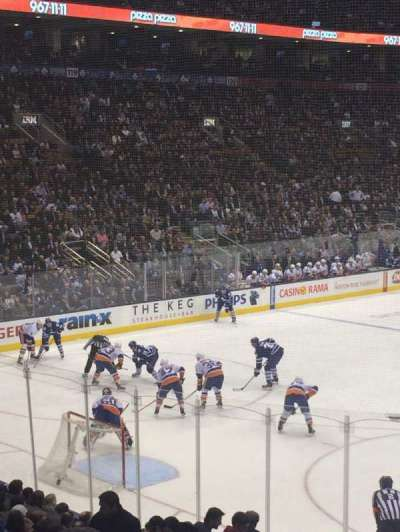Air Canada Centre, section: 112, row: 20, seat: 10