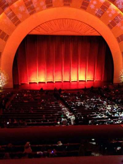 Radio City Music Hall, section: 1st mezzanine 5, row: A, seat: 510