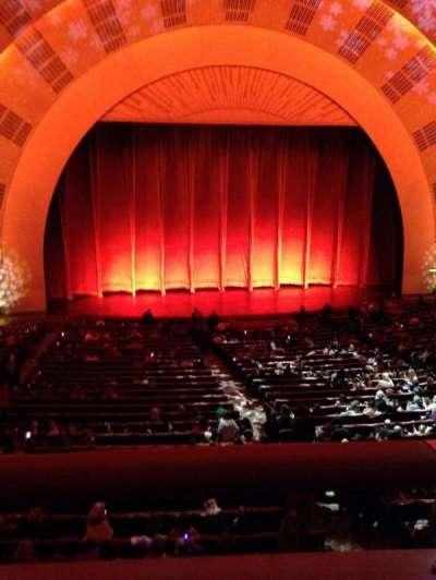 Radio City Music Hall, section: 1st mezzanine 5, row: A, seat: 510