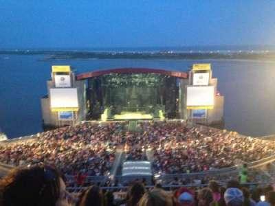 Jones Beach Theater, section: 22, row: P