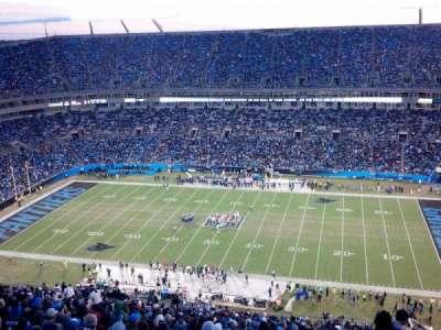 Bank of America Stadium, section: 513, row: 34, seat: 1