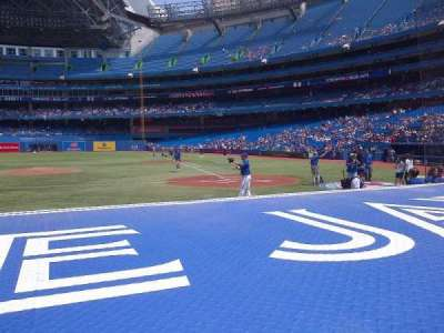 Rogers Centre, section: 125, row: 1, seat: 7