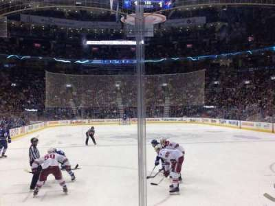 Air Canada Centre, section: 114, row: 8