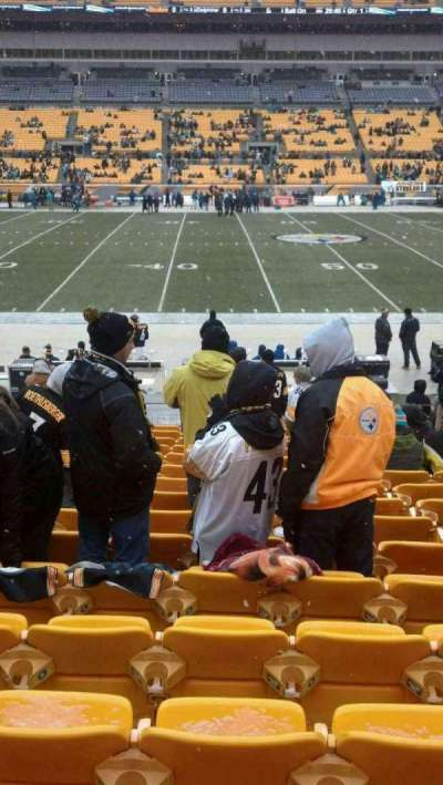 Heinz Field, section: 134, row: Q, seat: 15