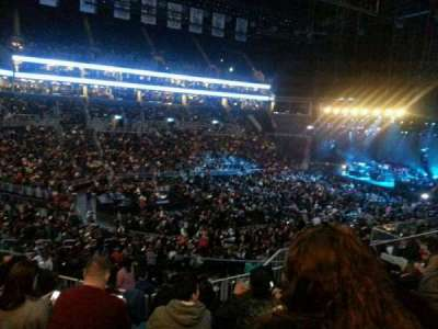 Barclays Center, section: 111, row: 9, seat: 13