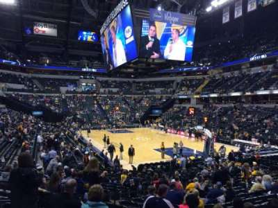 Bankers Life Fieldhouse, section: 12, row: 21, seat: 18