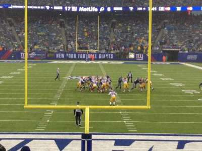 MetLife Stadium, section: 101, row: 17, seat: 13-14