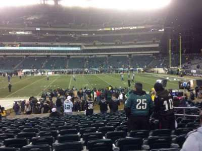 Lincoln Financial Field section 123