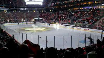 Prudential Center, section: 1, row: 15, seat: 16