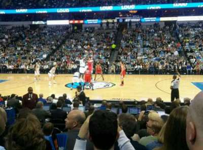 American Airlines Center, section: 118, row: H, seat: 11