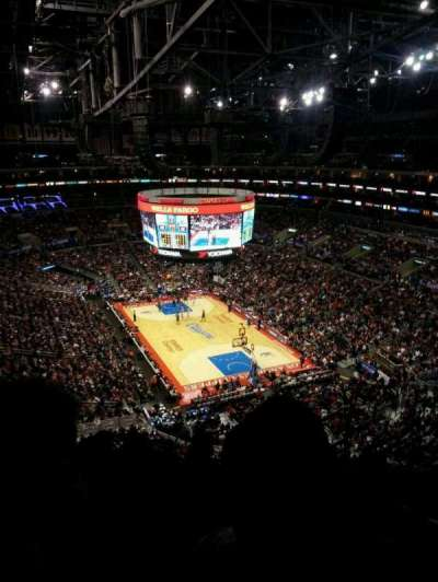 Staples Center, section: 312, row: 7, seat: 2