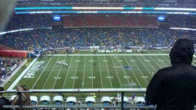 Gillette Stadium, section: 333, row: 10, seat: 11